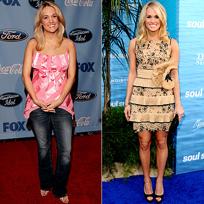 Carrie UnderwoodCarrie Underwood Body Transformation
