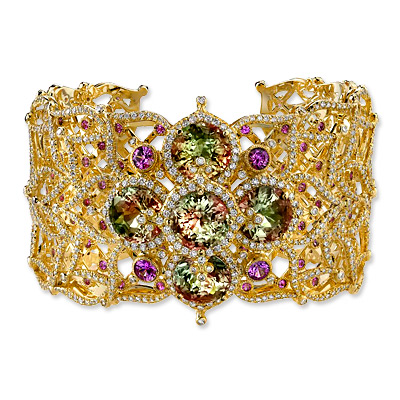Erica Courtney Lotus Cuff