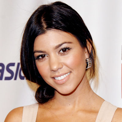 Kourtney Kardashian - Transformation - Hair - Celebrity Before and After