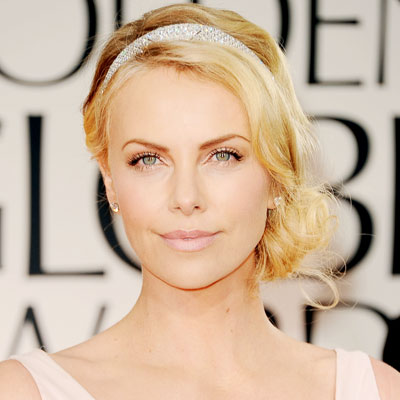 Charlize Theron - Transformation - Hair - Celebrity Before and After