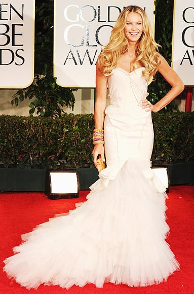 Elle Macpherson - Zac Posen - Golden Globes
