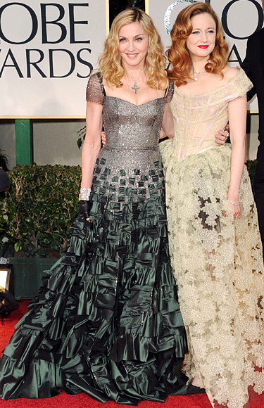 Madonna - Andrea Riseborough - Golden Globes
