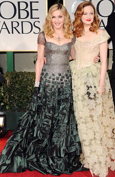 Madonna - Andrea Riseborough - Golden Globes