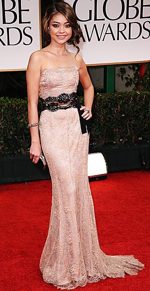 Sarah Hyland - Dolce and Gabbana - Golden Globes
