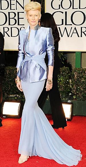 Tilda Swinton - Golden Globes