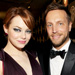 Emma Stone and Ariel Foxman