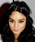 Vanessa Hudgens - hair - New Year's Eve