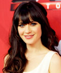Zooey Deschanel - Daily Beauty Tip - Celebrity Beauty Tips