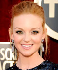 Jayma Mays - Green eye shadow - Daily Beauty Tip