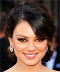 Mila Kunis - Oscars 2011 - makeup