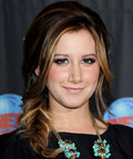 Ashley Tisdale - Planet Hollywood - eyeliner