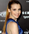 Emma Roberts - Scream 4 - hair