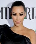 Kim Kardashian - Midori Melon lunch - nail polish