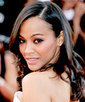 Zoe Saldana - hair - Cannes