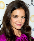 Katie Holmes - eye shadow - Drama Desk Awards