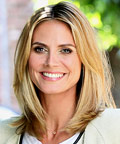 Heidi Klum - hair - Daily Beauty Tip