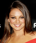 Mila Kunis - Friends With Benefits premiere - smokey eyes