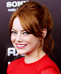 Emma Stone - hair - Friends with Benefits