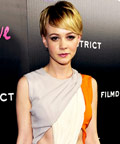 Carey Mulligan - Comic Con - nail polsih