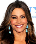Sofia Vergara - eye lashes - Smurfs premiere
