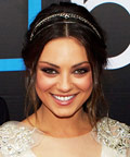 Mila Kunis - ponytail - headband - Friends with Benefits