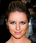 Dianna Agron - Smoky Eye Makeup - Daily Beauty Tip
