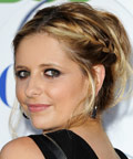 Sarah Michelle Gellar - braids - TCA party
