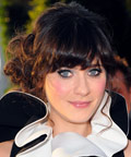 Zooey Deschanel - Daily Beauty Tip - '60s-Inspired Lower Lashes