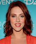 Scarlett Johansson - Daily Beauty Tip - Sheer Orange Lips