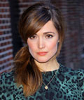 hair - Rose Byrne - David Letterman