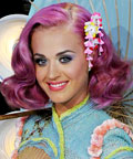 Katy Perry - Daily Beauty Tip - Bright Eyes and Lips