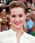 Evan Rachel Wood - eye lashes - Venice