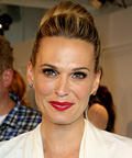 Molly Sims - bun - New York City fashion week
