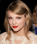Taylor Swift - hair - Rodarte Spring 2012 fashion show