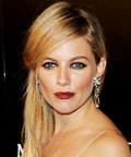 Sienna Miller - Smokey Eyes - Strong Lip - Eyes - Lip - Moet & Chandon Etoile awards party