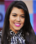 Kourtney Kardashian - lips - lipstick - NBC's Today Show