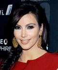 Kim Kardashian - cheeks - blush - coral blush - Game Changers Awards - Soho - New York City