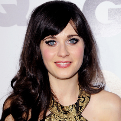Zooey Deschanel - Transformation - Hair - Celebrity Before and After