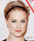 Evan Rachel Wood - headband - hair