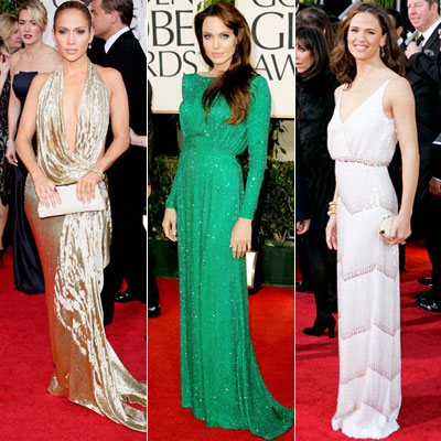 The Best Golden Globes Gowns of All Time - Jennifer Lopez - Angelina Jolie - Jennifer Garner