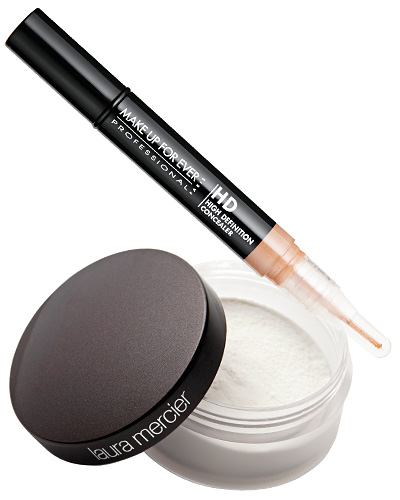 Look of the Day photo | Concealer for dark circles is cakey!