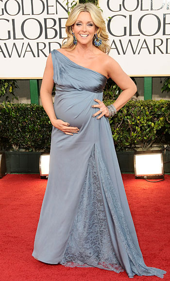 Golden Globes 2011 - Jane Krakowski - Badgley Mischka