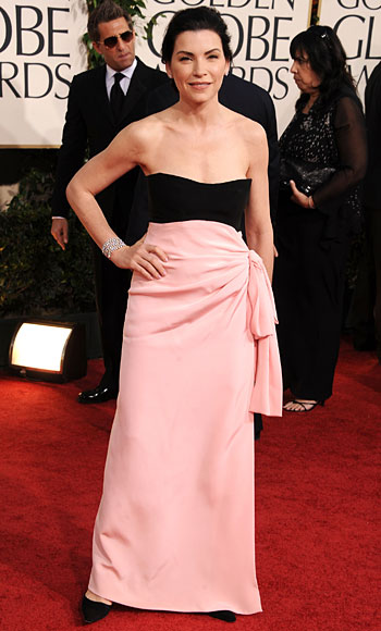 Golden Globes - Julianna Margulies - YSL