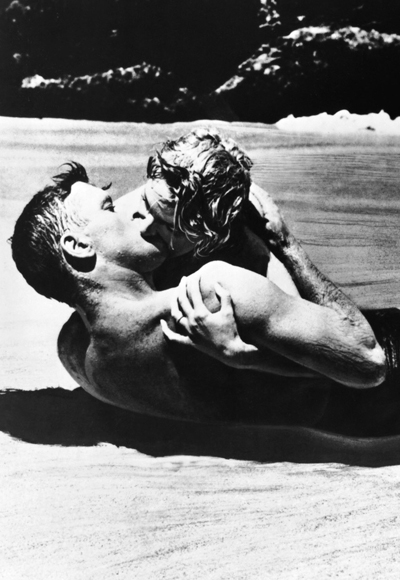 Iconic Kisses - From Here to Eternity - Beach Kiss