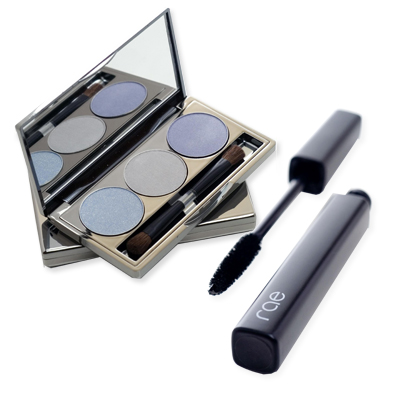 RAE Lush Mascara and 3 Well Eye Shadow Palette