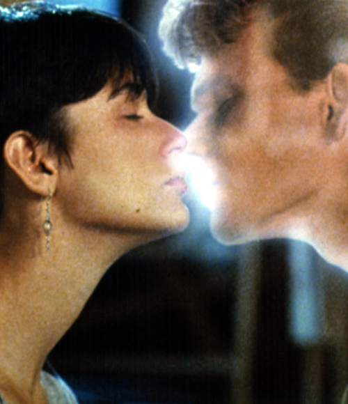 Iconic Kisses - Ghost - Demi Moore