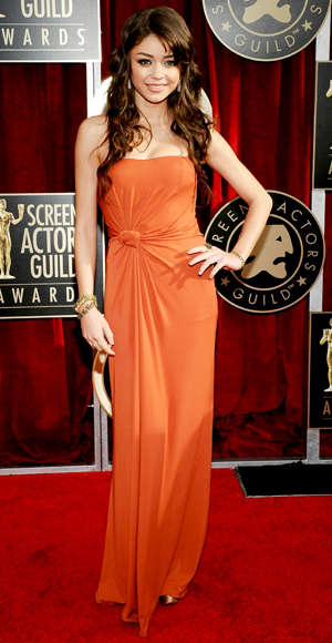 Sarah Hyland - Max Mara - Me &amp; Ro - SAG Awards 2011