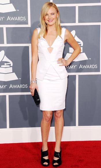 Malin Akerman - Grammys 2012