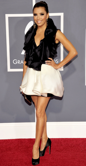 Eva Longoria - Ashi Studio - Red Carpet Arrivals - Grammy Awards 2011