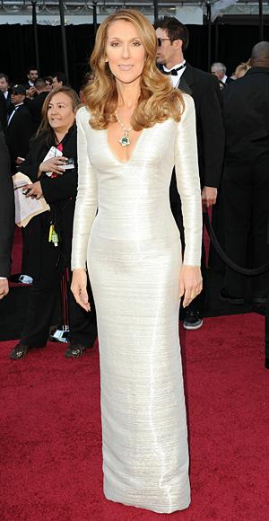 Celine Dion - Armani Prive - Oscars 2011 - Academy Awards